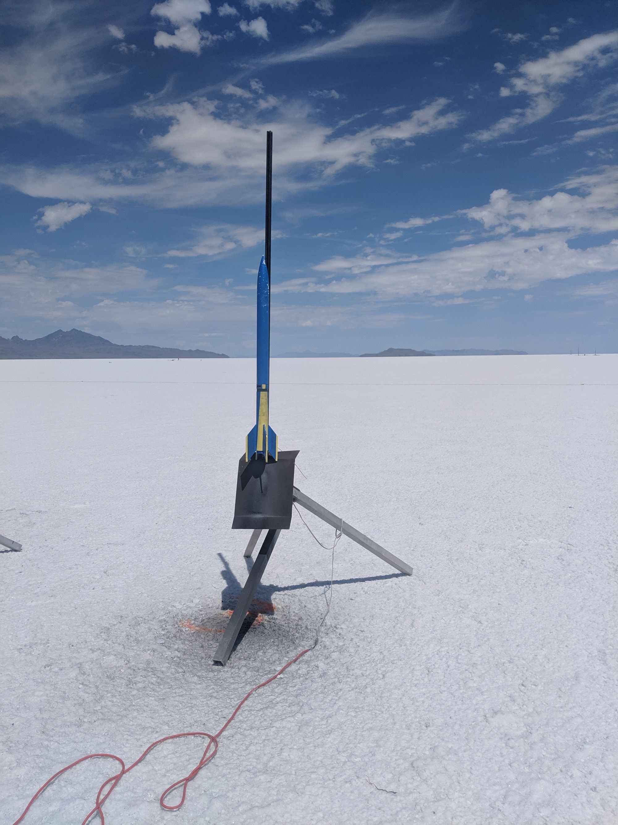 High-Power Rocketry Level 1 Certification Flight